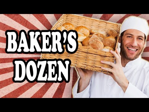 Why a Bakers Dozen is 13 Instead of 12