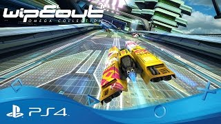 WipEout: Omega Collection | PSX Announce Trailer | PS4