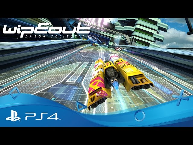 WipEout Omega Collection | PSX 2016 Announce Trailer | PS4