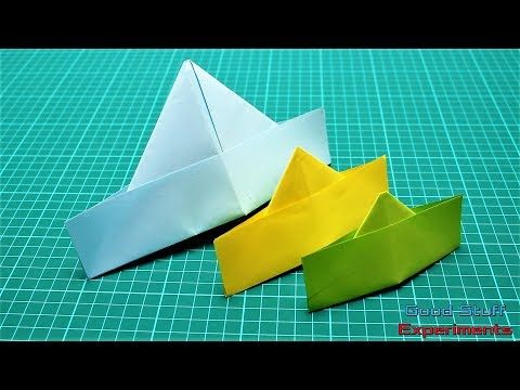 Origami Paper Hat - How to Origami