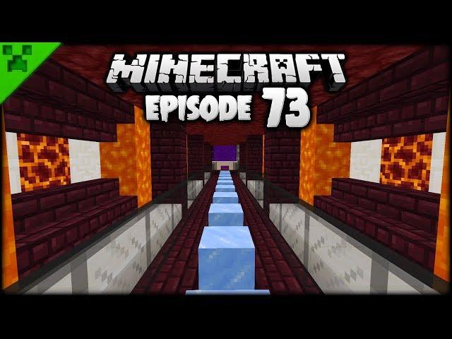 SUPER QUICK Minecraft Nether Tunnels! | Pythons World (Minecraft Survival Lets Play) | Episode 73
