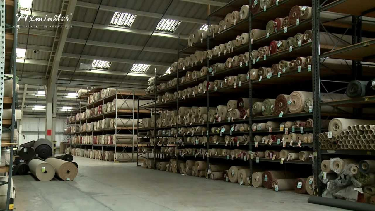 Axminster Carpets Manufacturing Youtube
