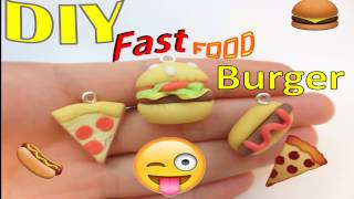 Natucraft - How to make miniature Fast Food: Burger. DIY