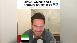 How languages sound to others PART 2