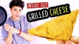 Inside Out Grilled Cheese Sandwich | Raphael Gomes