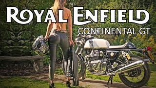 Royal Enfield Continental GT 650 Motorcycle Review Retro Cafe Racer - Blast from the past