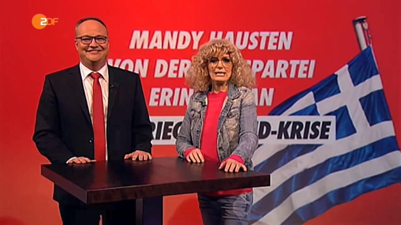 Ich trinke Ouzo und was machst Du so? | Mandy ZDF Heute ...