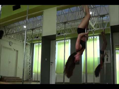 Poletrick: Extended Butterfly aus Shoulder Mount cup grip