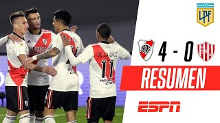 ¡GOLEADA Y SHOW DEL MILLONARIO ANTE EL TATENGUE! | River 4-0 Unión | RESUMEN