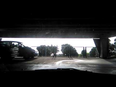 Driving up Centre City Shopping Mall in New Plymouth -- May 28, 2017