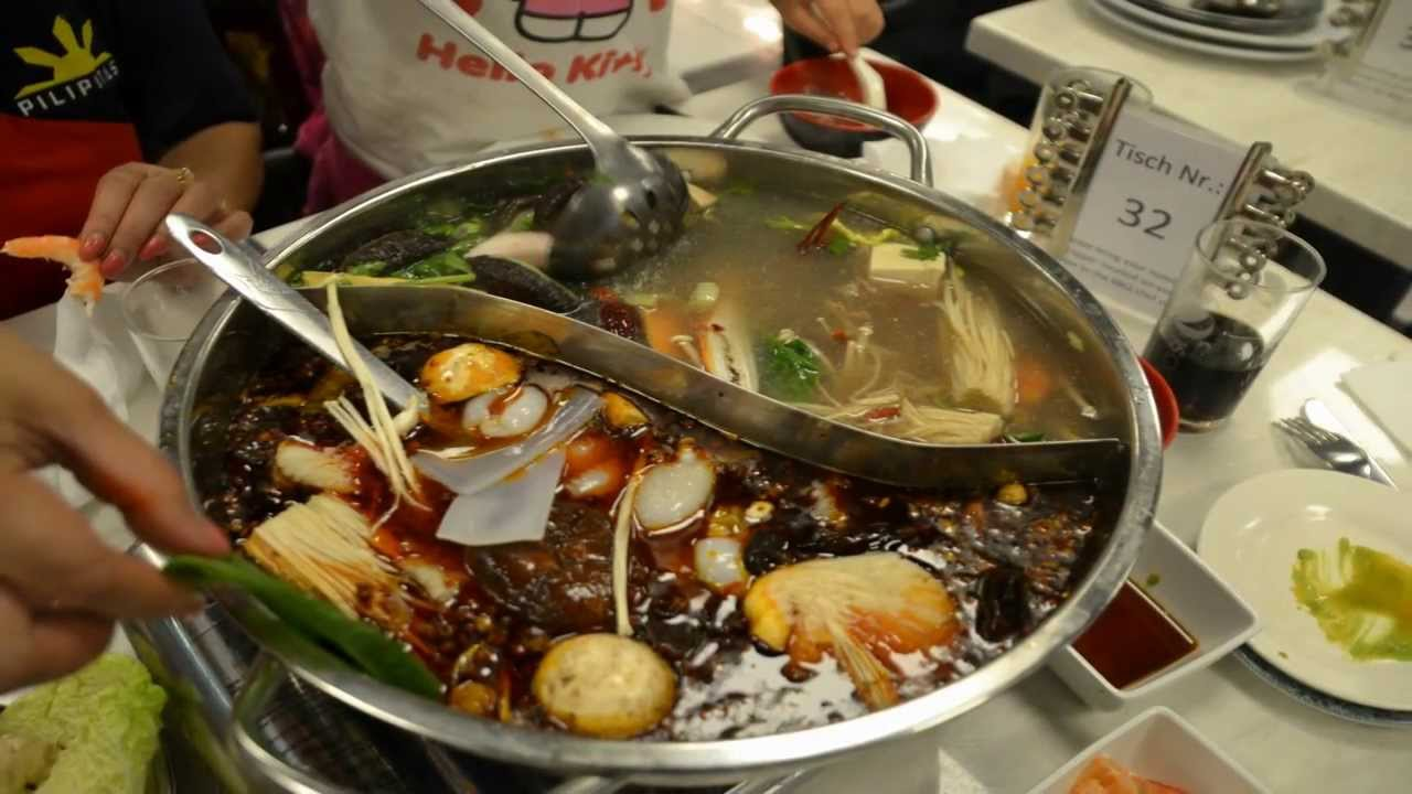 A Superb Chinese Hot Pot Dinner, Palms Garden Restaurant Frankfurt ...