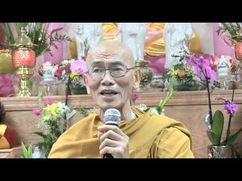 Thượng Tọa Thích giác Đăng tại Niệm Phật Đường Phổ Quang- Lựa Chọn Sự Ra đi