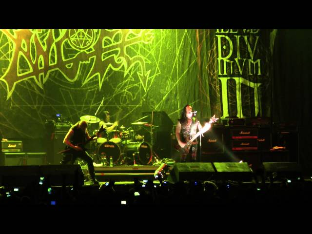Morbid Angel - Immortal Rites / Fall From Grace - The Metal Fest Chile 2013