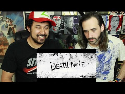 DEATH NOTE | Teaser TRAILER REACTION & REVIEW!