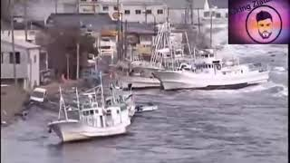 فيديو مسرب وخطير للتسونامي الذي ضرب اليابان من سنوات