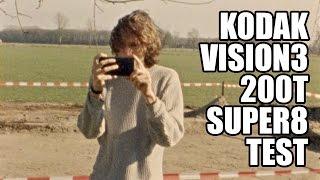 Super8 Test (Kodak Vision3 200T)