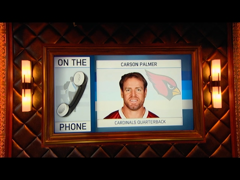 Arizona Cardinals QB Carson Palmer Talks Playing Another Year, Tom Brady & More - 2/10//17