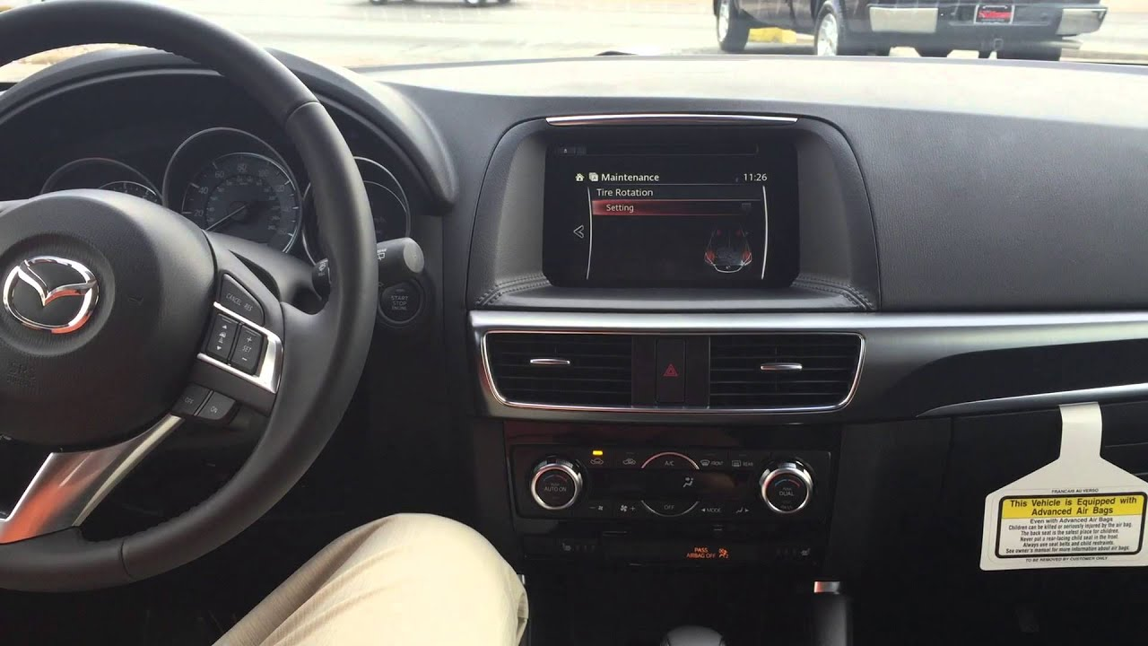 How To Set Your Maintenance Schedule On A Mazda Cx-5