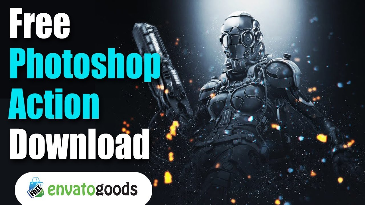 Free download Unlimited Photoshop actions download | envato premium elements