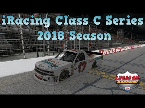iRacing Class C Series Livestream | 2018 Season | Lucas Oil Raceway Park