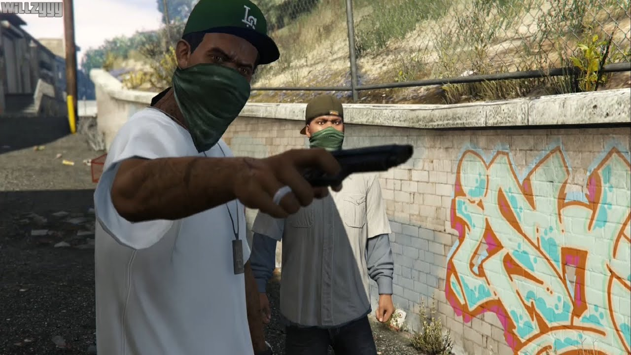 GTA 5 (PS4) - Mission #5 - Chop [Gold Medal] - YouTube