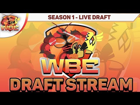 WORLD BATTLE ENTERTAINMENT FULL DRAFT STREAM! Season 1 WBE Draft