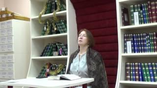 20 января 2017 -  Лекция о Данте - Божественная комедия -   М.  В.  Михайлова