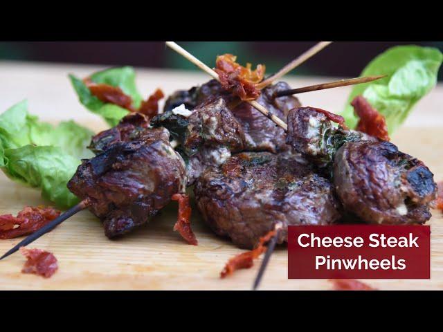 Cheese Steak Pinwheels