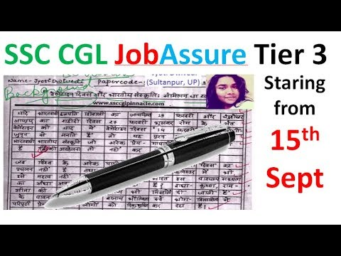 SSC CGL Tier 3 Prescriptive Paper - Analysis : How to write Essay and Letter