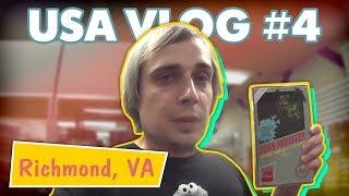 Вырезали почку в мотеле, Американский McDonald's, Ночная жизнь Ричмонда - USA VLOG #4