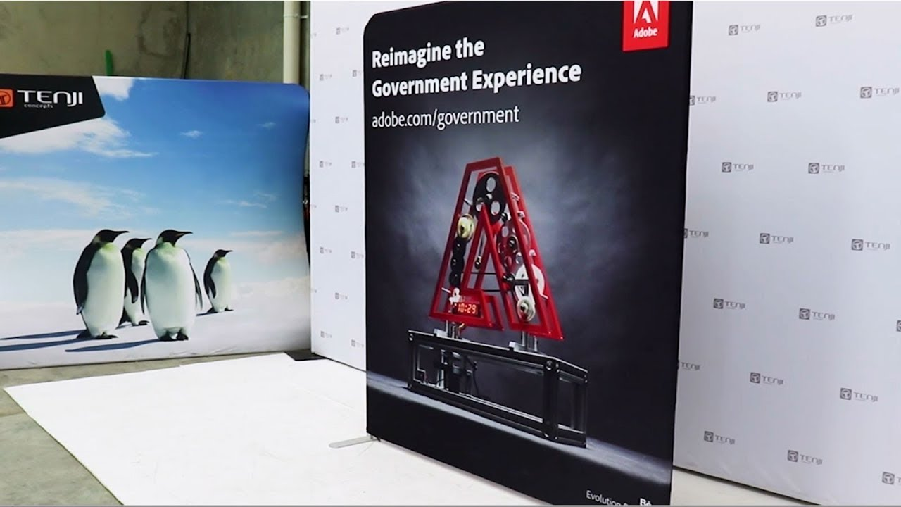 Exhibition Stand Wall : Adobe exhibition stand wall youtube