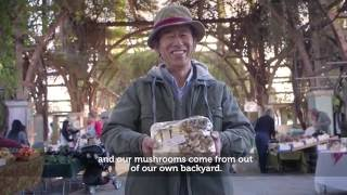 Jiro Watanuki of Sun Smiling Valley Farm