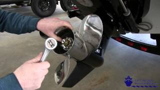 How to Install a Turning Point Stainless Steel Propeller