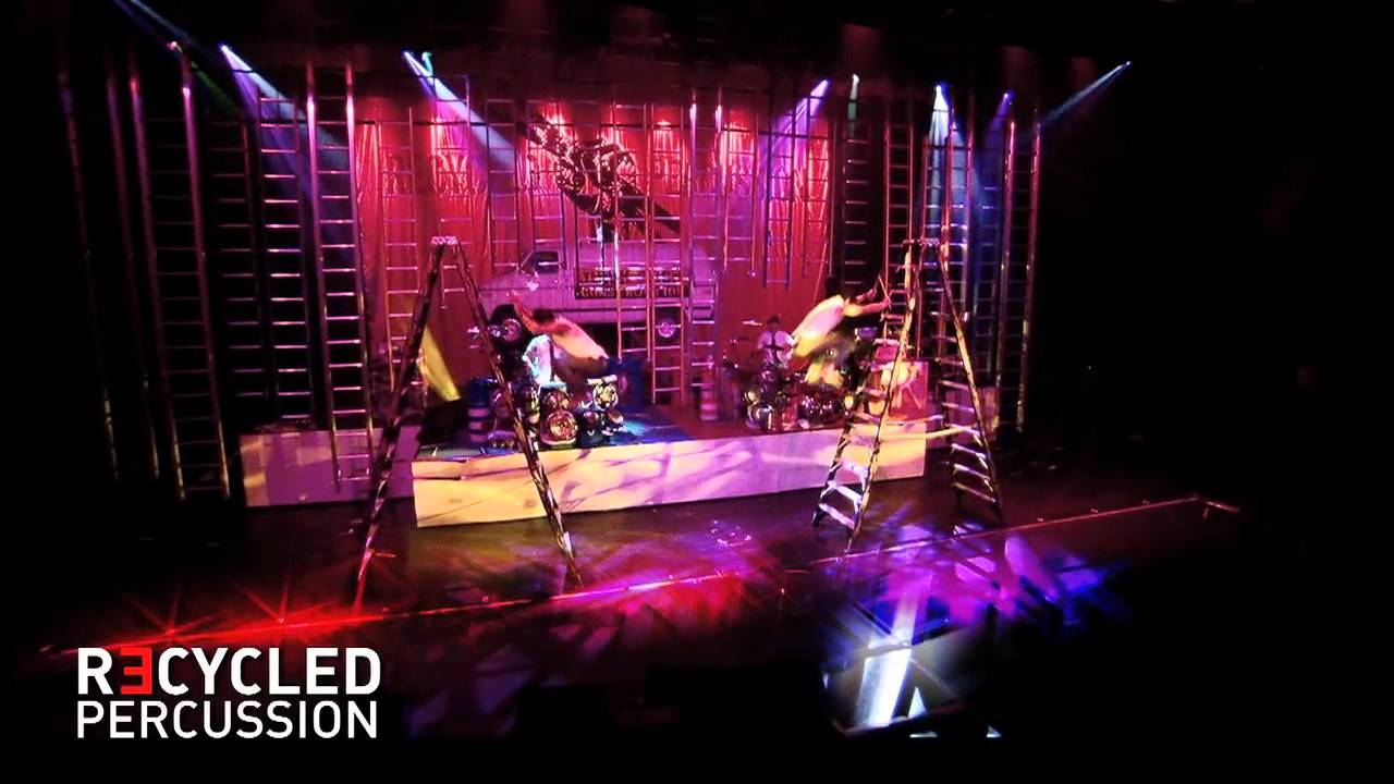 Recycled Percussion at Tropicana Las Vegas - YouTube