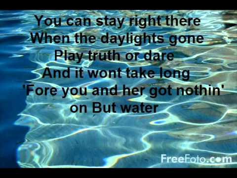 water - brad paisley lyrics