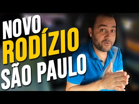 São Paulo CORTA das RUAS METADE dos MOTORISTAS | NOVO RODÍZIO