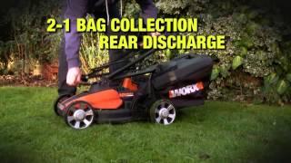 WG776E 40V MAX 33cm Lithium-ion Lawn mower @ Mangas