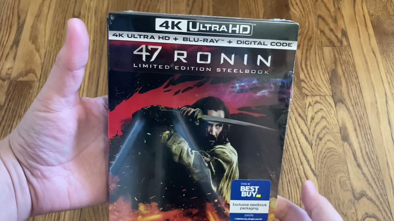 Download 47 Ronin (2013) Best Buy 4K UHD Blu-ray Steelbook Unboxing