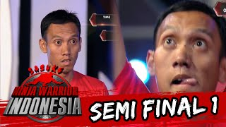 Wah Novi Firdaus Gagal Di Unstable Bridge [Sasuke Ninja Warrior Indonesia]  [3 April 2016]
