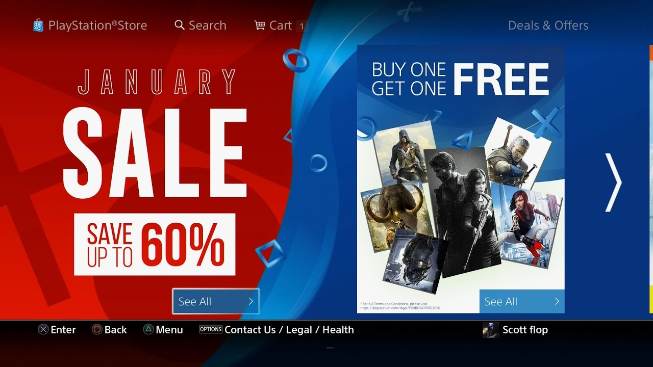 457 PS4 Games Discounted Up to 80% OFF PSN January Sale 2017 EU NO ...