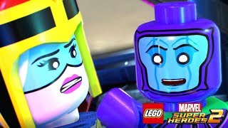 LEGO Marvel Super Heroes 2 Walkthrough Part 4 What's Klaw's is Mined (Guardians of the Galaxy)