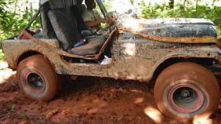 4x4 Panamá, chepo 2010 part 2 LAND CRUISER CHEVY 350  SWAMPER 38.5 ARB LOCKER, CJ7 WARN CJ7