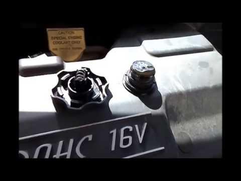 How to remove a broken plastic oil filler cap