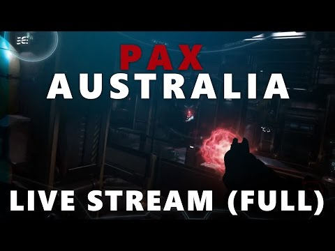 FPS Reveal - PAX Australia 2014 Live Stream FULL (Star Citizen)