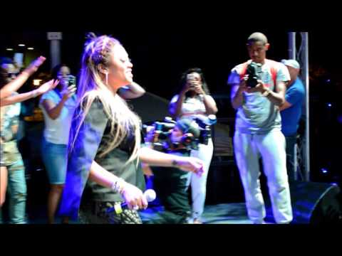 The Baddest B, Trina, rocks the stage at Bayfest 2016