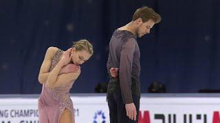 Виктория Синицина - Никита Кацалапов. Произвольный танец. Чемпионат мира по фигурному катанию 2021