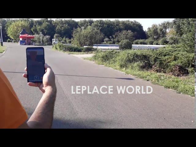 LEPLACE WORLD: Real life exploration game