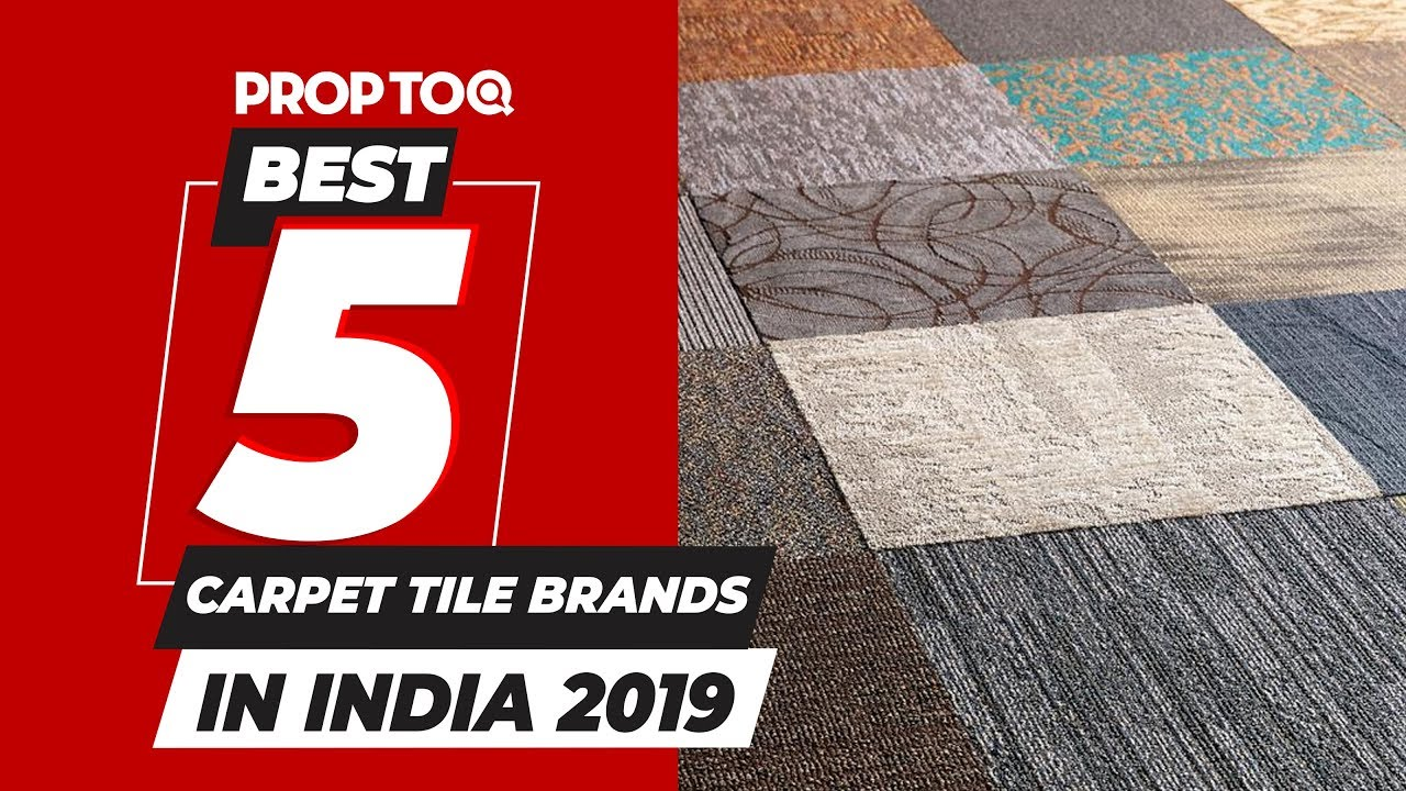 Top 5 Carpet Tile Brands In India On The Basis Of Year