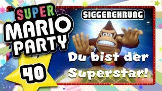SUPER MARIO PARTY 🎲 #40: Siegerehrung, Credits & Toad-Tablet [ENDE]