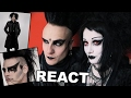 Goths React to 40 Years of Men's Goth Style | Black Friday